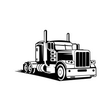 Tow Truck Trailer Logo Transpo...