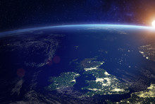 United Kingdom (UK) From Space...