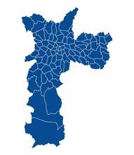Map Of Sao Paolo