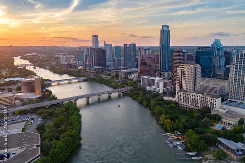 Austin Aerial Skyline