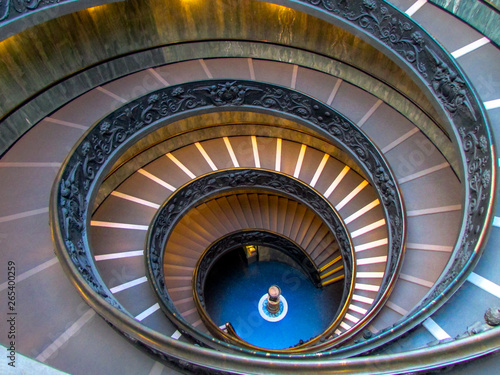 Wall Murals Spiral Staircase