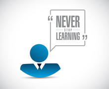 Never Stop Learning Businessma...