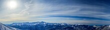 Panoramic View Of The Caucasus...