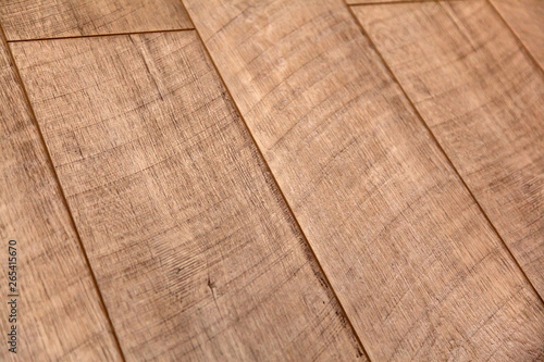 Fototapeta Different soft wood surface as background, wood texture. Wood wall. Close-up of a wide range of laminate in different colors. obraz na płótnie