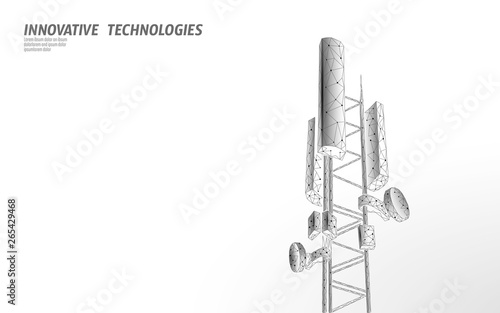 3d base station receiver Wallpaper Mural