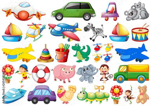 In de dag Kids Set of children toy