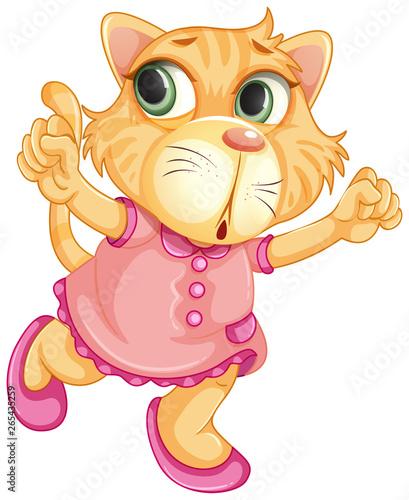 In de dag Kids A baby tiger character