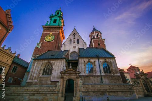 Castello di Wawel a Cracovia in Polonia