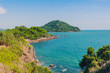 Beautiful scenery at Nang Phaya Hill Scenic Point in Chanthaburi, Thailand.
