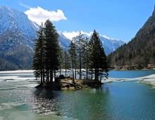 E Lake Called Lago Del Predil ...