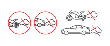 Before Refueling, Switch The Engine Off, Set Of Linear Icons