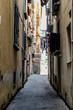 KLeine Gasse in Salerno Italien