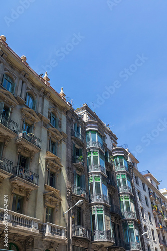 Photo  Stunning architecture from Barcelona, Spain in Europe