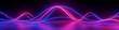 3d render, abstract panoramic background, neon light, laser show, impulse, equalizer chart, ultraviolet spectrum, pulse power lines, quantum energy impulse, pink blue violet glowing dynamic lines