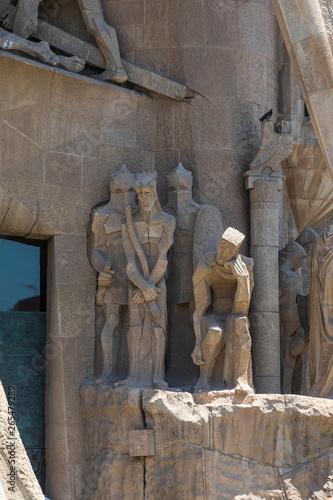 Photo  The Sagrada Familia Basilica