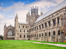 North Side Of Ely Cathedral, C...