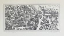 Plan Of Paris.