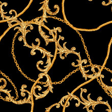 Golden Chain Glamour Baroque S...