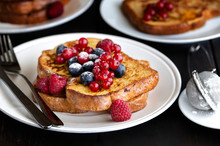 Traditional French Toast With ...
