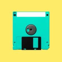 Floppy Disk 3.5 Inch Back Nost...