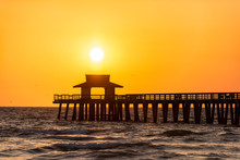 Naples, Florida Yellow Orange ...