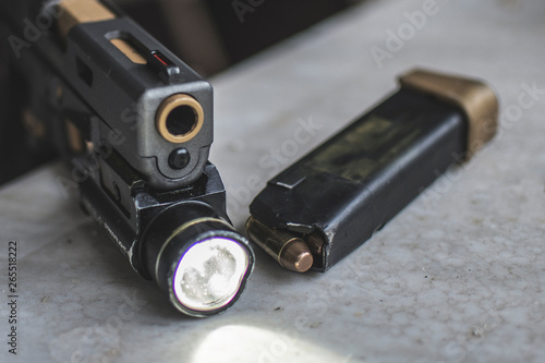 Fotografie, Tablou  Glock .40 caliber