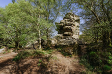 Brimham Rocks, In North Yorksh...