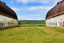 Old Barns On Farm, Olympia, Washington, United States
