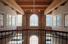 Balcony In Office Building