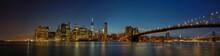 Panoramic View Of New York Cit...