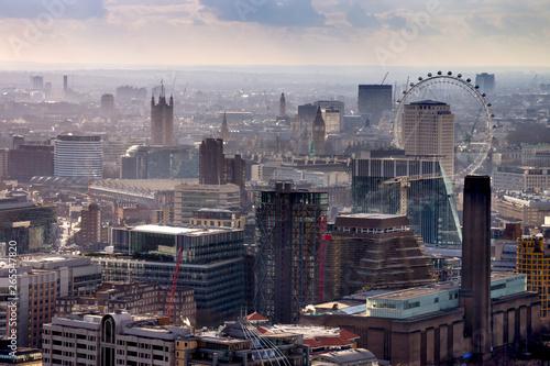 europe, UK, England, London, City skyline Waterloo Big Ben Wallpaper Mural