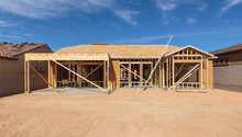 Construction Of House Under Blue Sky