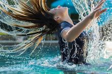 13 Year Old Girl In Swimming Pool