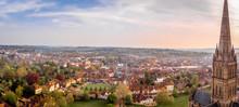 Aerial View Of Salisbury Cathe...