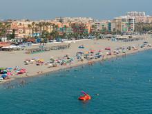 Spain, Andalucia, Almunecar Beach