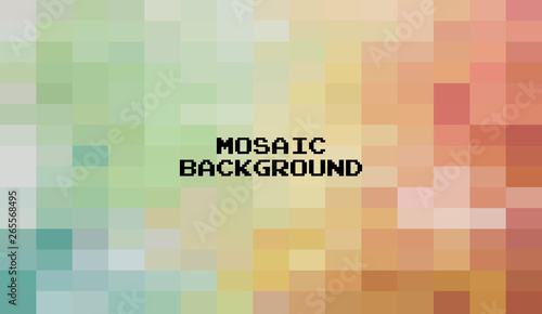 Abstract Colorful Geometric Background Creative Design