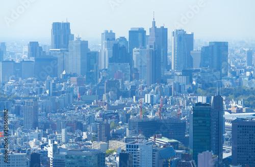 東京 新宿 新宿高層ビル群 2019年