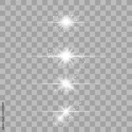Photo Optical lens flare light