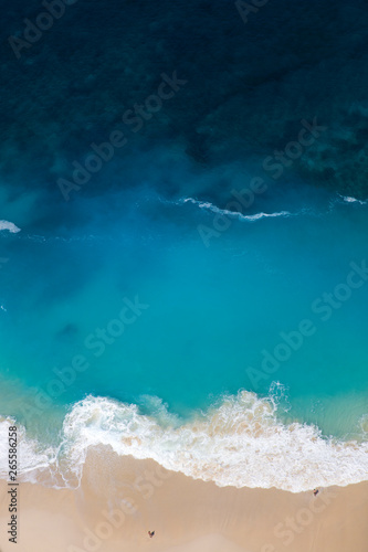 Kelingking beach on the island of Nusa Penida in Indonesia Fototapeta