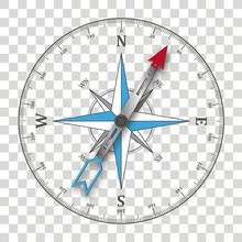 Compass Silhouette Transparent