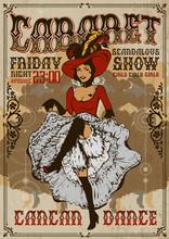 Cabaret Show Poster Invitation...