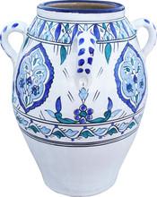 Vintage Blue And White Porcela...