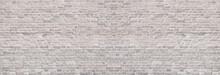 Wide Light Brick Wall Texture....