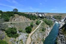 Folsom Dam In California With ...