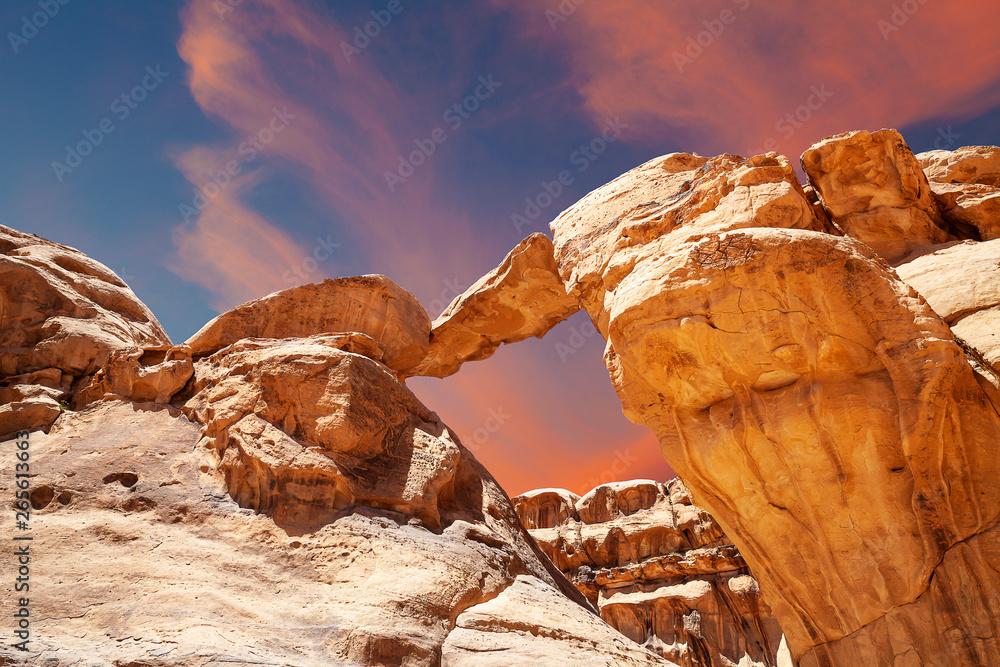 Fototapety, obrazy: Deserto del Wadi Rum, Giordania