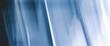 Leinwanddruck Bild - Blue digital futuristic design, abstract background