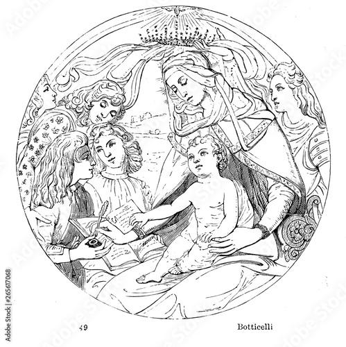 Obraz na plátně Virgin mary