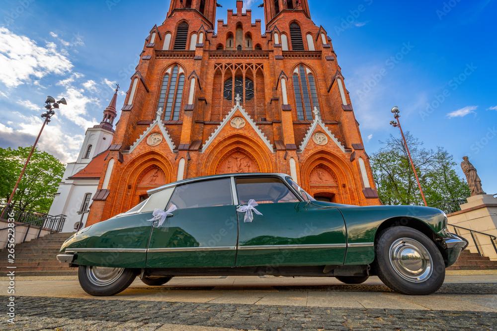 Fototapety, obrazy: Zabytkowy kościół Farny w Białymstoku