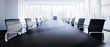 canvas print picture - Meeting Room Chefetage
