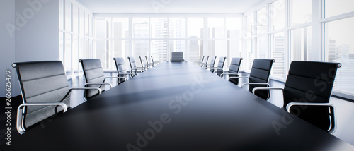 Fototapety, obrazy: Meeting Room Chefetage